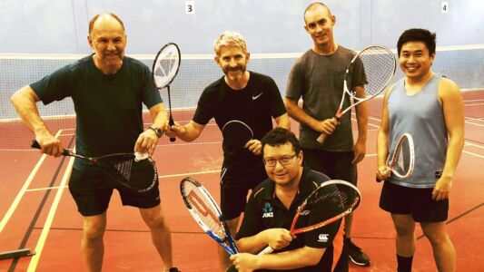 2018 Shepherds Park Squash Racketlon Team