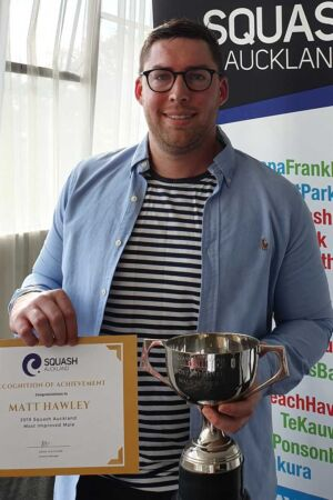 2019 Auckland Squash Most Improved Male Squash Player