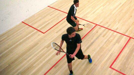 Tournament Final At Shepherds Park Squash - Matt Vs Sean